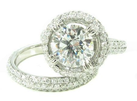 Prong Diamond Ring