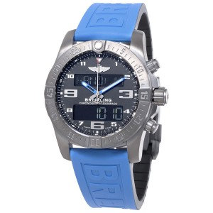 Breitling Exospace B55 Connected Blue Rubber