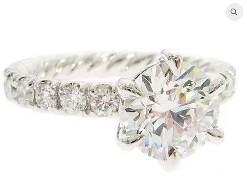 1.00 ct H/SI 1 Diamond Ring