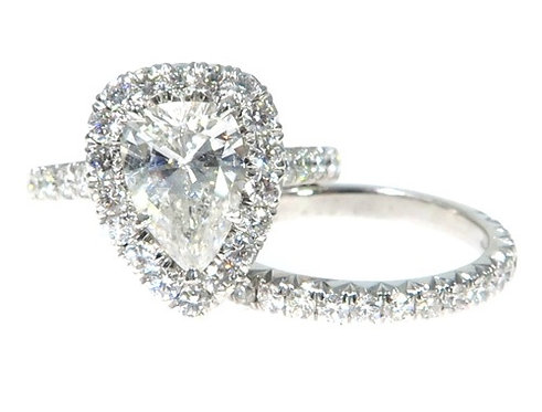 Prong Diamond Engagement Ring Set