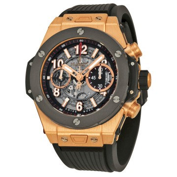 Hublot Big Bang Unico King Gold Ceramic Skeletal Dial Men