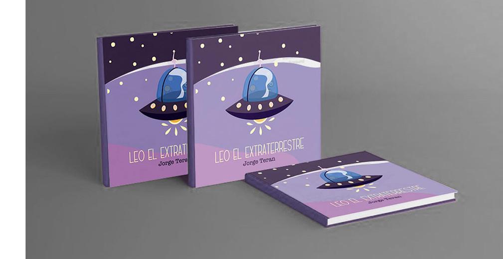 "Cuento infantil "" Leo el extraterrestre"", 2020"