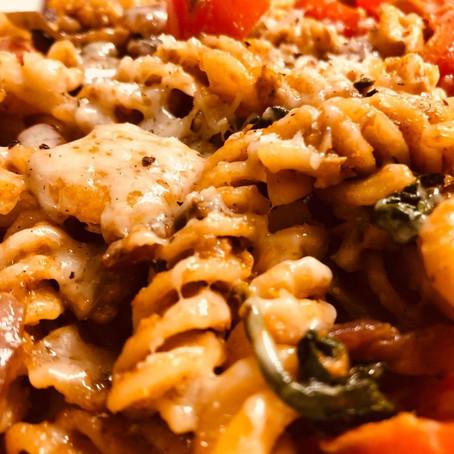 Spicy Hummus Pasta Recipe