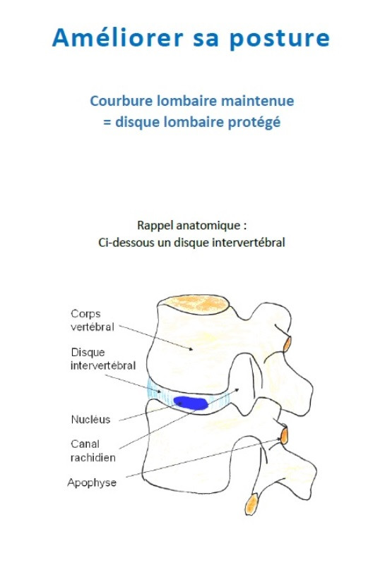 Ostéopathie / posture / Disque / Dos