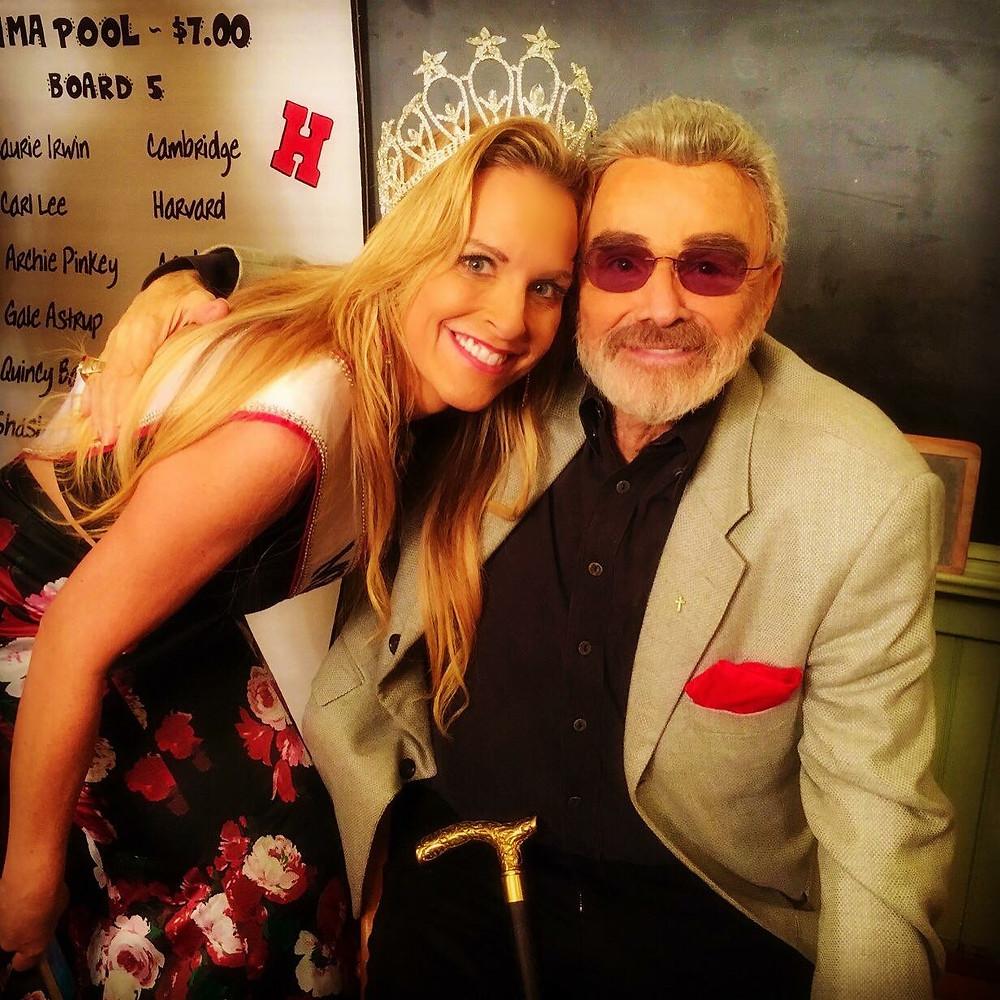 Karyn Turk and Burt Reynolds