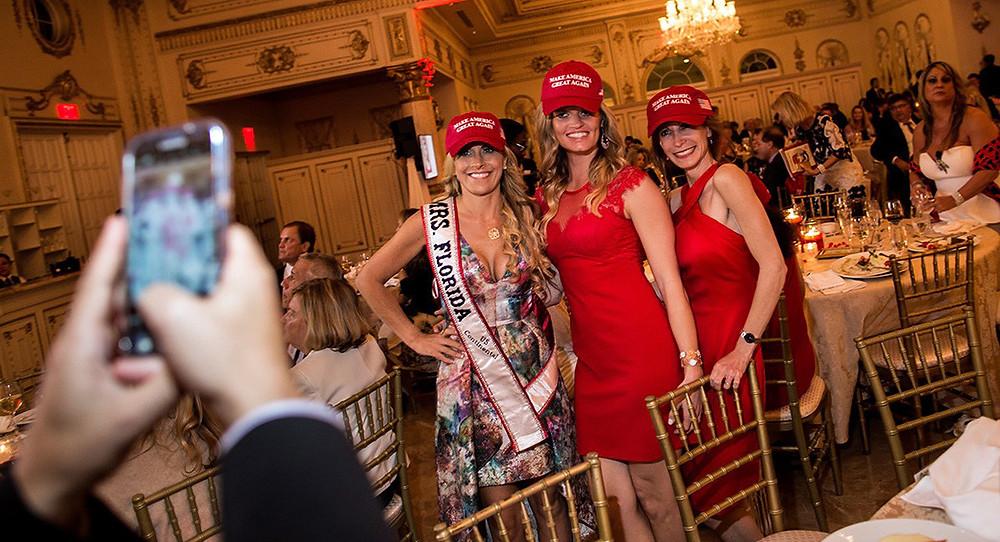 Karyn Turk Mrs. Florida - Mar-a-Lago 2017 Republican Dinner