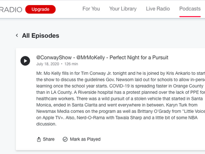 Karyn LIVE with Mr. Mo'Kelly @conwayondemand Radio