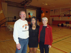 Tim Shynkaruk, Josephine & Sue Gibb