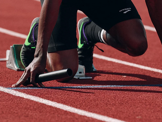 The First Three Steps of Sprinting
