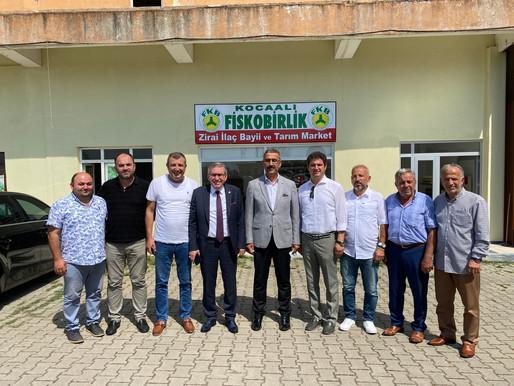 ASKF'den Lütfi Bayraktar'a ziyaret
