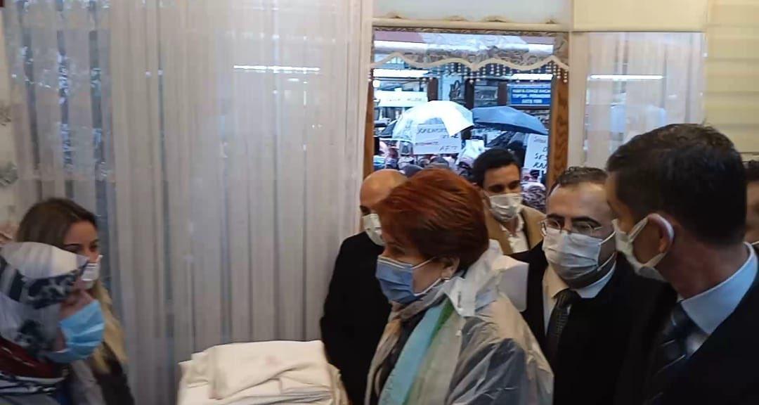 Meral Akşener Sakarya'daydı.
