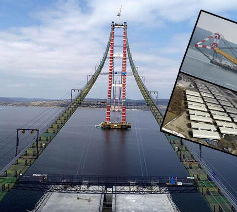 Çanakkale Köprüsü Hızla İlerliyor