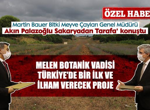 Melen Botanik Vadisi Türkiye'de bir ilk