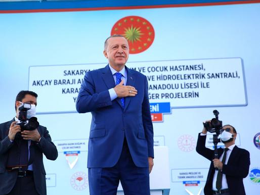 Cumhurbaskanı Erdoğan açılış töreninde konuştu