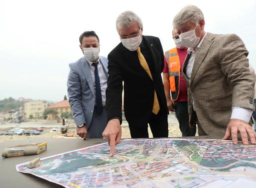 Yavuz'dan Başkan Yüce'ye tebrik