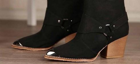 Kadınların Vazgeçilmezi topuklu botlar