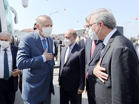 Erdoğan Toplu Açılışları gerçekleştirdi