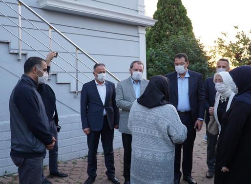 Milletvekillerinden Yazıcı ailesine taziye ziyareti