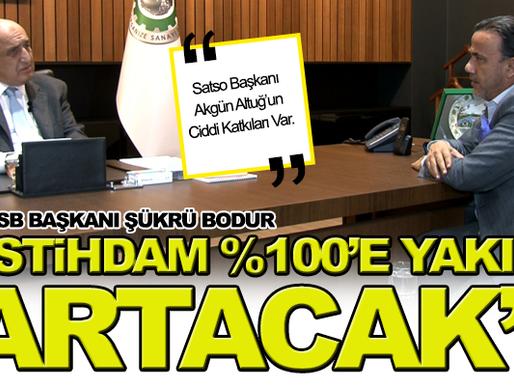 2.OSB Başkanı Şükrü Bodur'dan İstihdam Müjdesi.