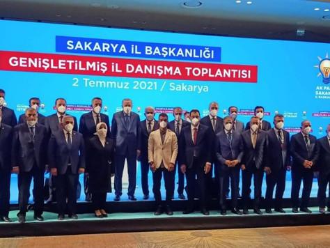 Başkan Erdoğan'dan Teşkilata Övgü
