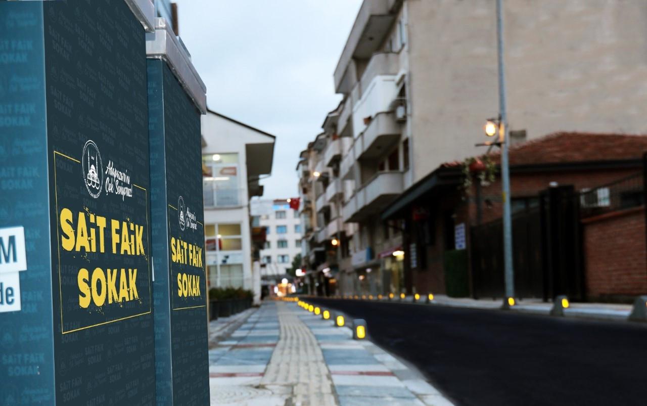 Adapazarı Belediyesi Sait Faik'i unutmadı
