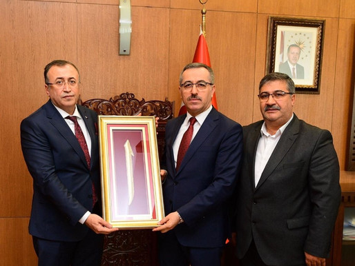 Balcı'dan Başkan Güngör ve Rüstem Keleş'e ziyaret