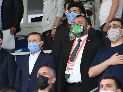 Başkan Ekşi, 'Rövanş maçına da aynı ciddiyetle hazırlanacağız.''