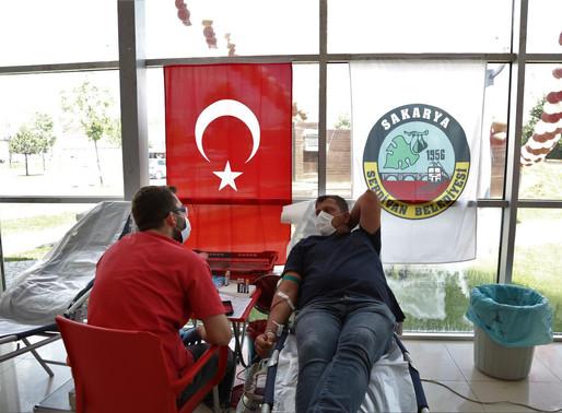Serdivan'dan Kan Kampanyası