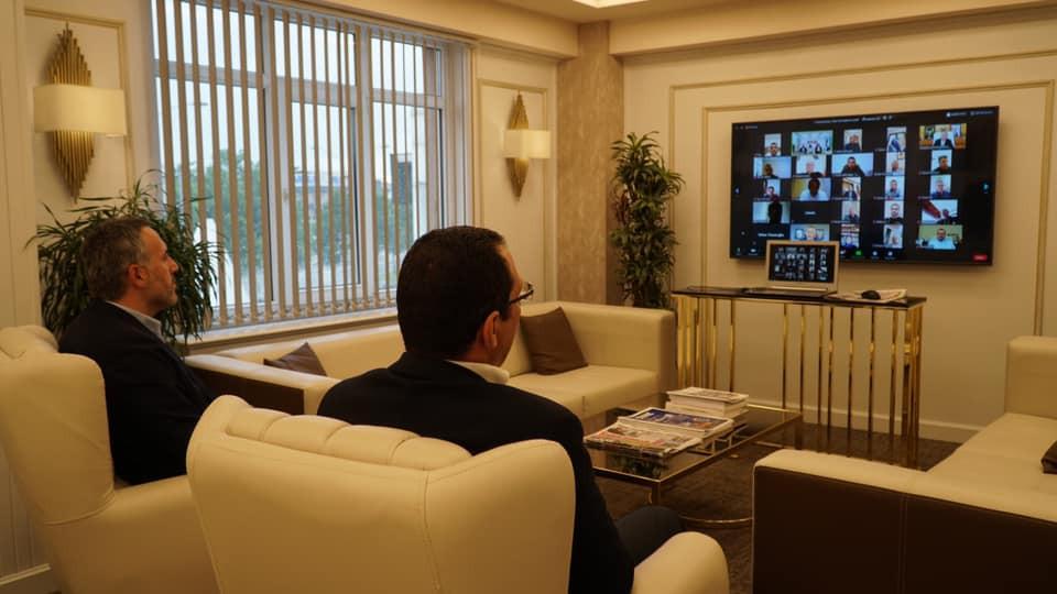 AK Parti de Bayramlaşma video konferans ile yapıldı