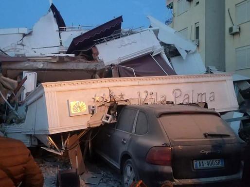 Arnavutluk'ta 6.4 ve 5.4 büyüklüğünde peş peşe depremler