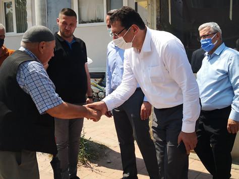 Ali İhsan Yavuz'dan Serdivan da bir dizi ziyaret