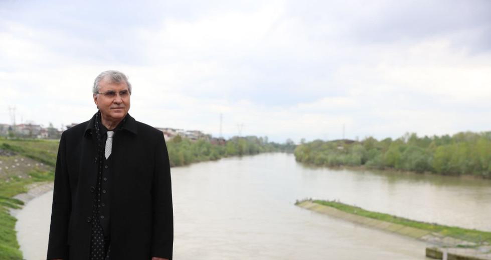 Nehir Kıyısı Yaşam Alanı Olacak