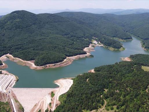 Akçay Barajı'nda 40 milyon metreküp su tutulacak
