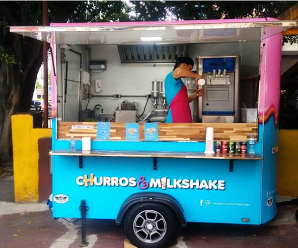 CART VENDA DE CHURROS