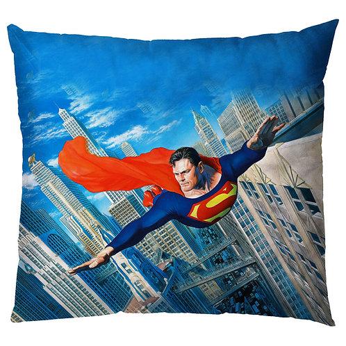 ESSENTIELE KIDS SUPERMAN CARTOON CUSHION COVER(16*16 INCHES)