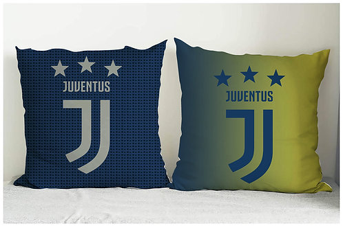 ESSENTIELE JUVENTUS FC CUSHION COVER 16*16 INCHES (SET OF 2)