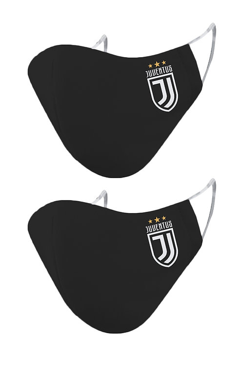ESSENTIELE JUVENTUS OLD 2PLY REUSABLE FACE MASK (PACK OF 2)