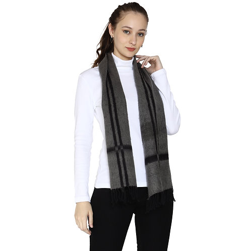 ESSENTIELE WOMEN WELSH NATIONAL PLAID  REVERSABLE WOOL TOUCH WINTER MUFFLER
