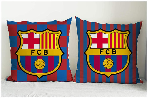 ESSENTIELE BARCELONA FC CUSHION COVER 16*16 INCHES (SET OF 2)
