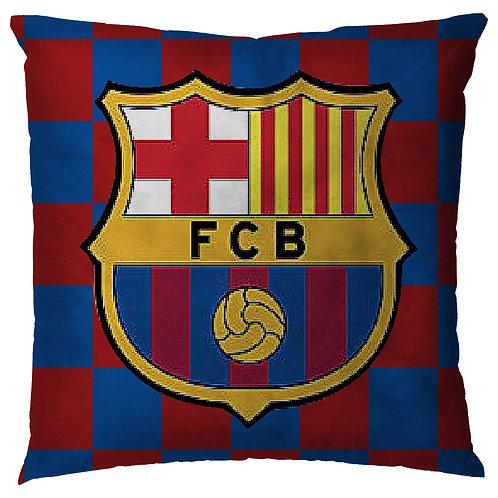 ESSENTIELE Barcelona FC Cushion Cover (16X16 INCHES)