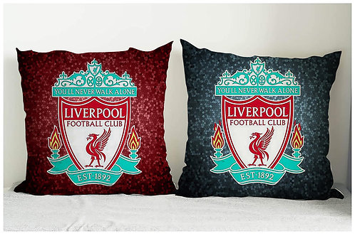 ESSENTIELE LIVERPOOL FC CUSHION COVER 16*16 INCHES (SET OF 2)