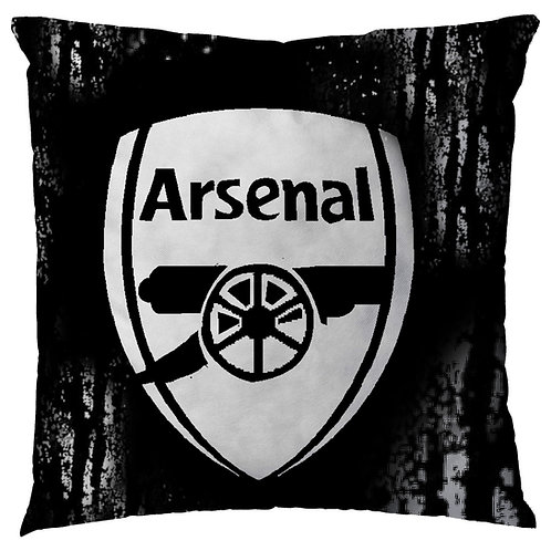 ESSENTIELE Arsenal FC Cushion Cover (16X16 INCHES)