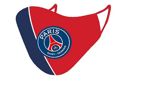 ESSENTIELE PSG (RED) FC 2PLY REUSABLE FACE MASK (PACK OF 1)
