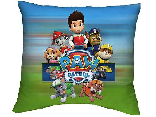 ESSENTIELE Kids PAW PATROL Cartoon Cushion Cover (16X16 INCHES)