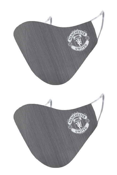 ESSENTIELE MANCHESTER UNITED AWAY KIT 20/21 2PLY REUSABLE FACE MASK (PACK OF 2)