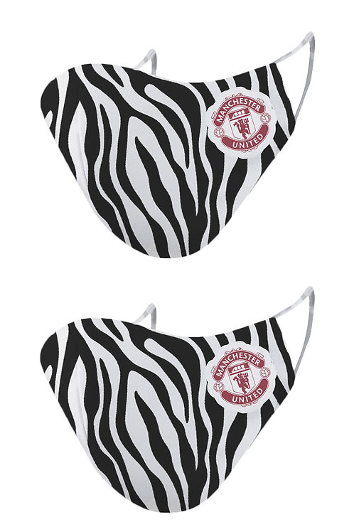 ESSENTIELE MANCHESTER UNITED THIRD KIT 20/21 2PLY REUSABLE FACE MASK (PACK OF 2)