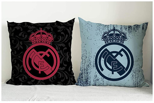 ESSENTIELE REAL MADRID FC CUSHION COVER 16*16 INCHES (SET OF2)