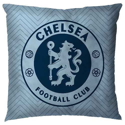 ESSENTIELE Chelsea FC Cushion Cover (16X16 INCHES)