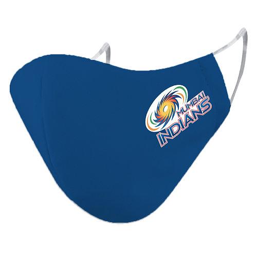 ESSENTIELE IPL MUMBAI INDIANS Cloth Mask  (Blue, Free Size, Pack of 1)