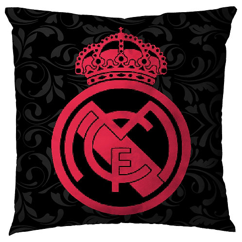 ESSENTIELE Real Madrid FC Cushion Cover (16X16 INCHES)
